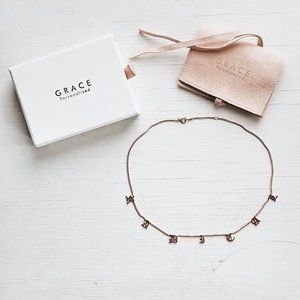 Radical Rosegold Choker Necklace